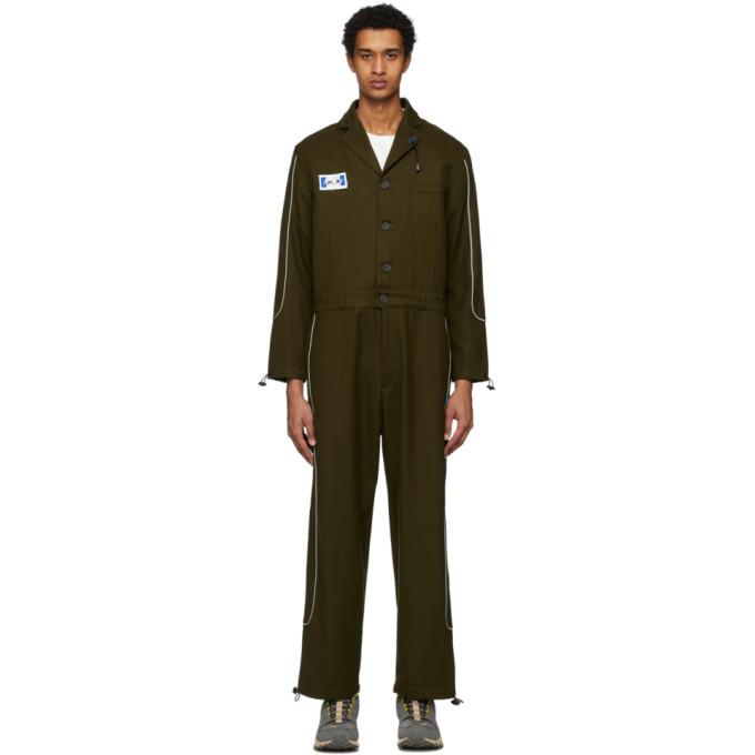 Photo: ADER error Khaki Wool Deod Jumpsuit