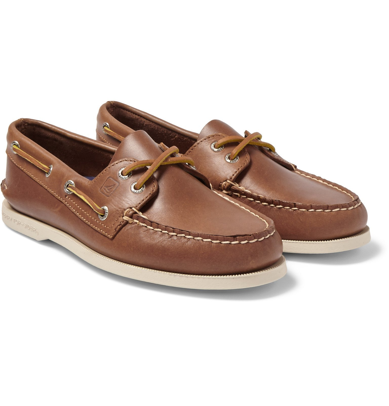 Photo: Sperry - Authentic Original Leather Boat Shoes - Brown