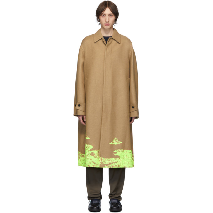 Photo: Valentino Tan Undercover Edition Time Traveller Coat