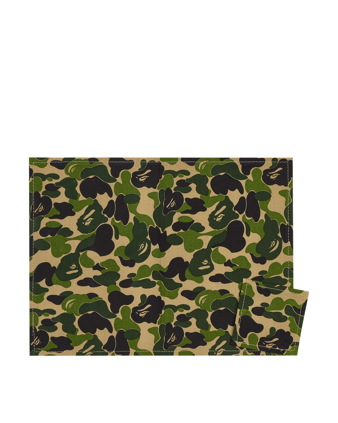 Photo: A Bathing Ape Abc Placemat & Coaster Green