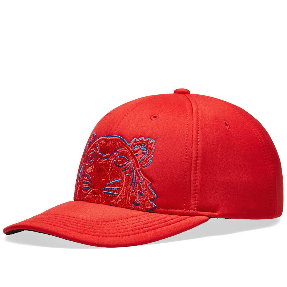 Photo: Kenzo Neoprene Tiger Cap Medium Red