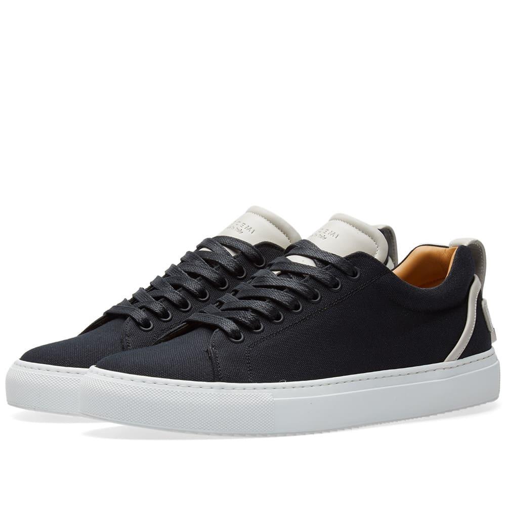 Photo: Buscemi Lyndon Canvas Low Sneaker Black
