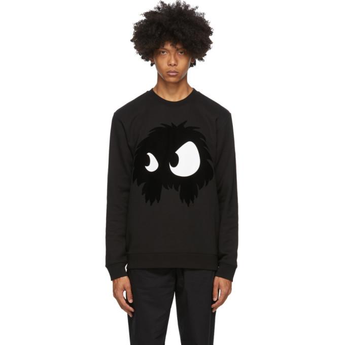 Photo: McQ Alexander McQueen Black Chester Monster Sweatshirt