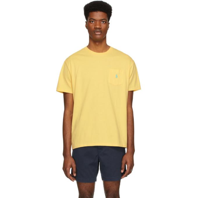 Photo: Polo Ralph Lauren Yellow Pocket T-Shirt