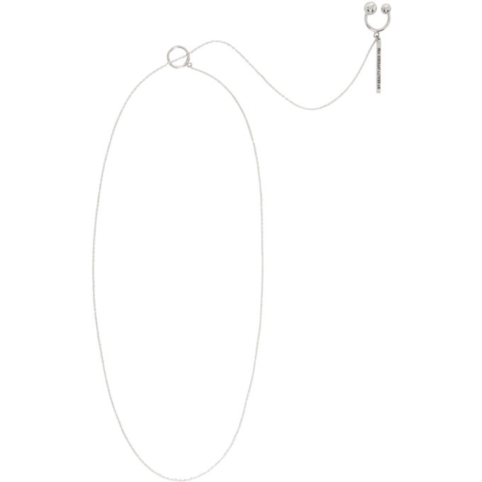 GmbH Silver My Beauty Offends You Engraved Shaneera Necklace