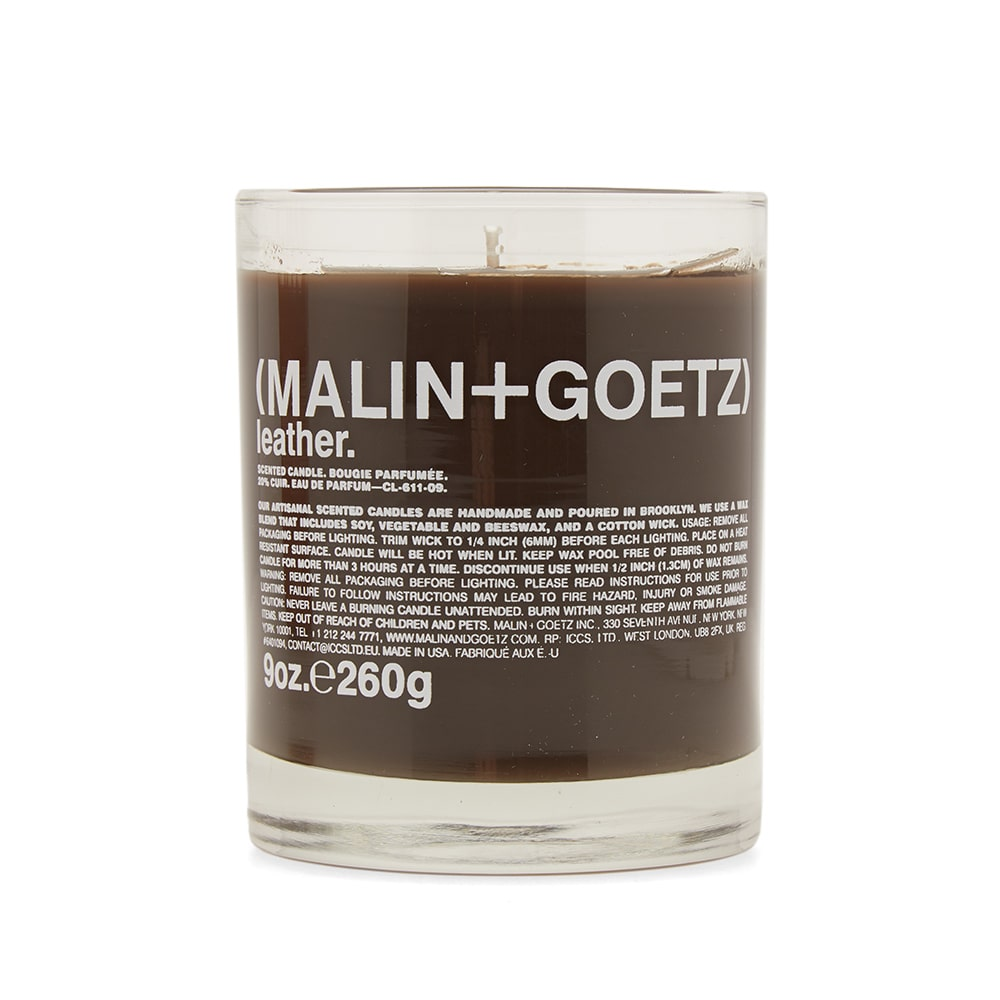 Photo: Malin + Goetz Table Candle
