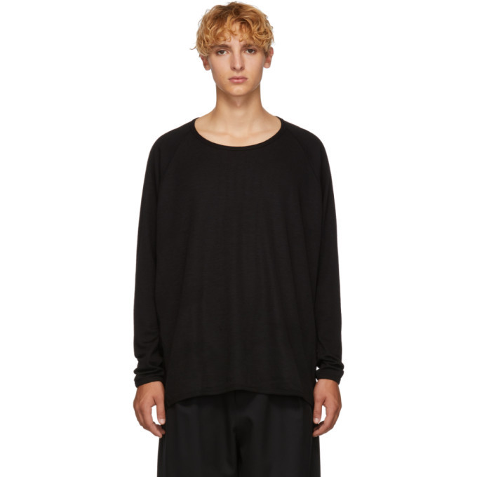 Photo: Jan-Jan Van Essche Black 1/1 Rib Sweater