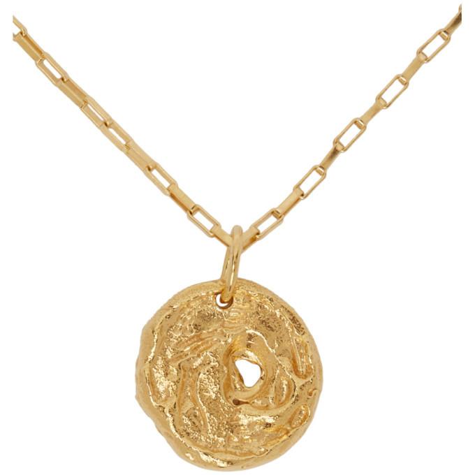 Alighieri Gold The Dark Water Necklace