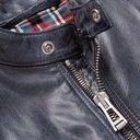 Belstaff - Maxford 3.0 Burnished-Leather Jacket - Men - Blue
