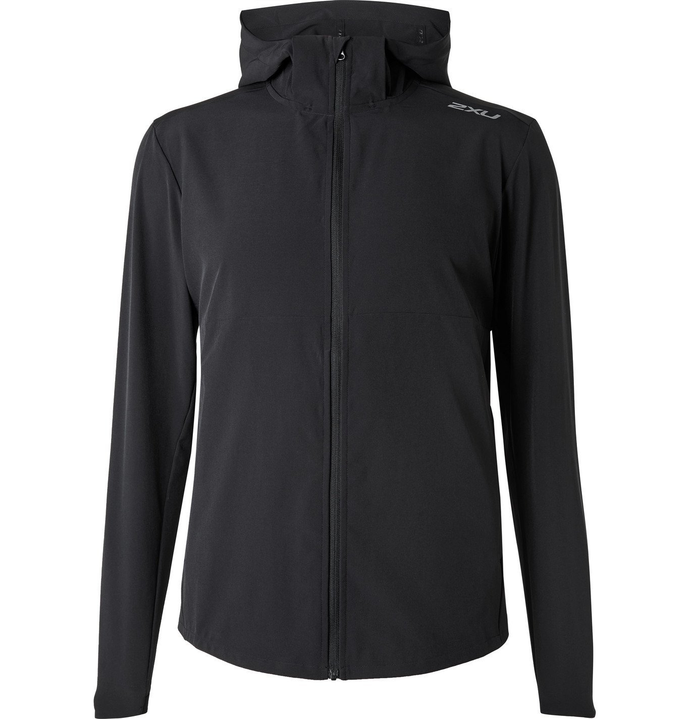 Photo: 2XU - XVENT Mesh-Panelled Stretch-Jersey Hooded Jacket - Black