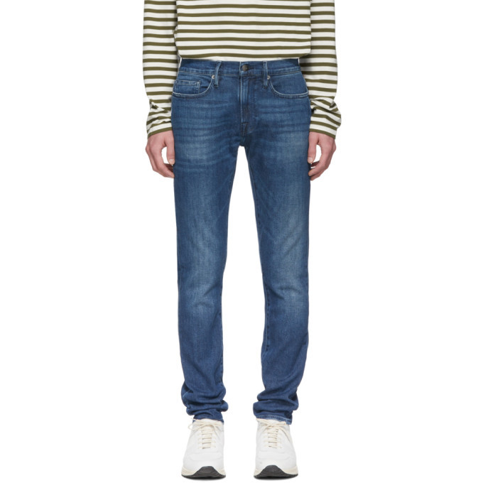 Photo: Frame Blue LHomme Skinny Jeans