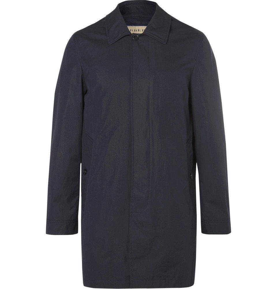 Photo: Burberry - Cotton-Blend Gabardine Hooded Coat with Detachable Gilet - Men - Navy