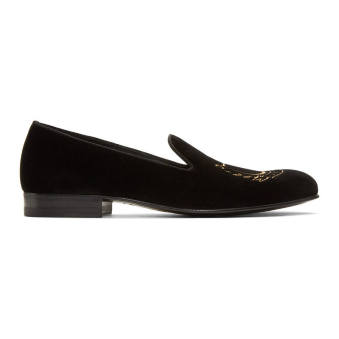 Photo: Gucci Black Glauco Loafers