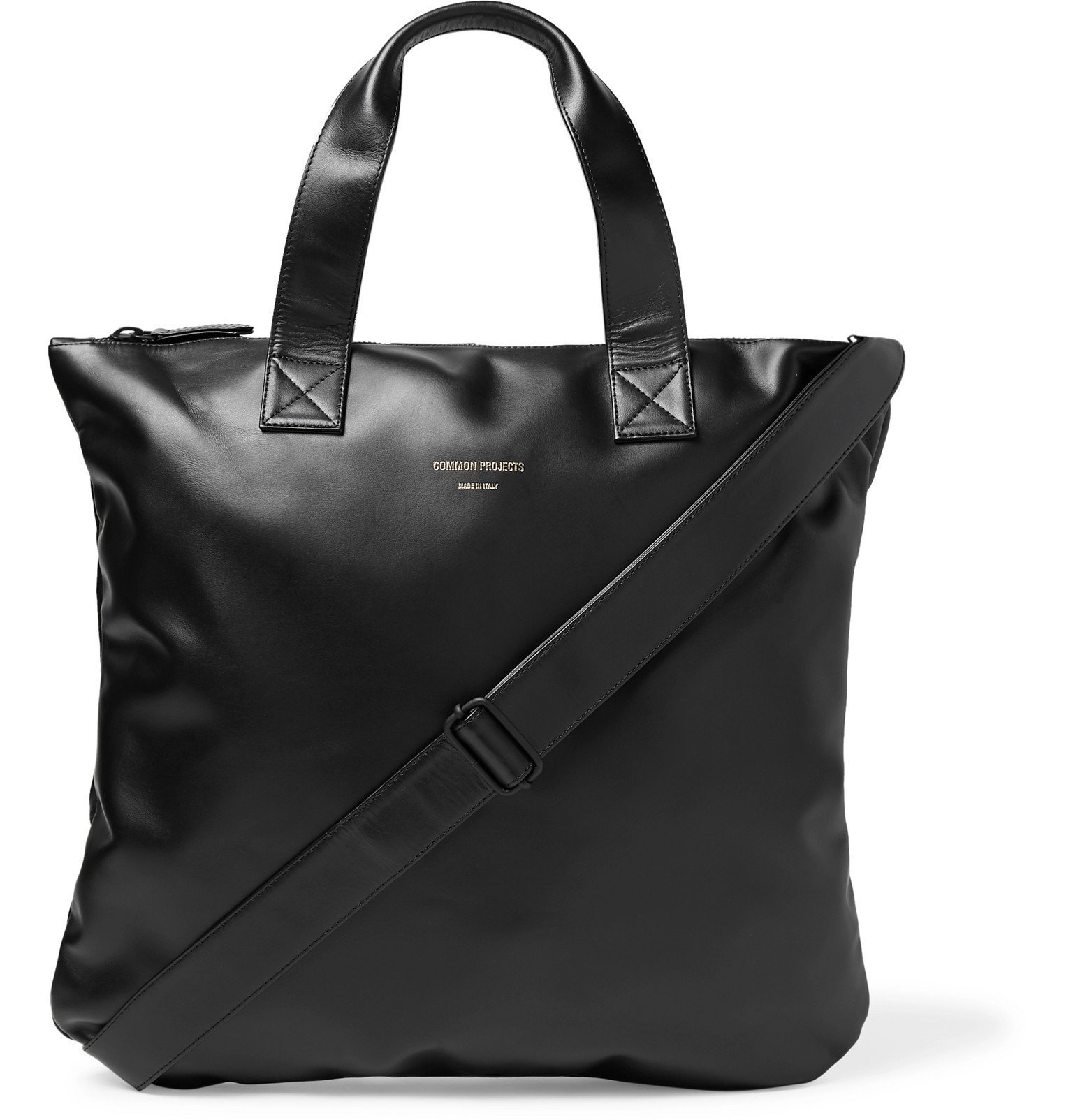 Photo: Common Projects - Leather Tote Bag - Black