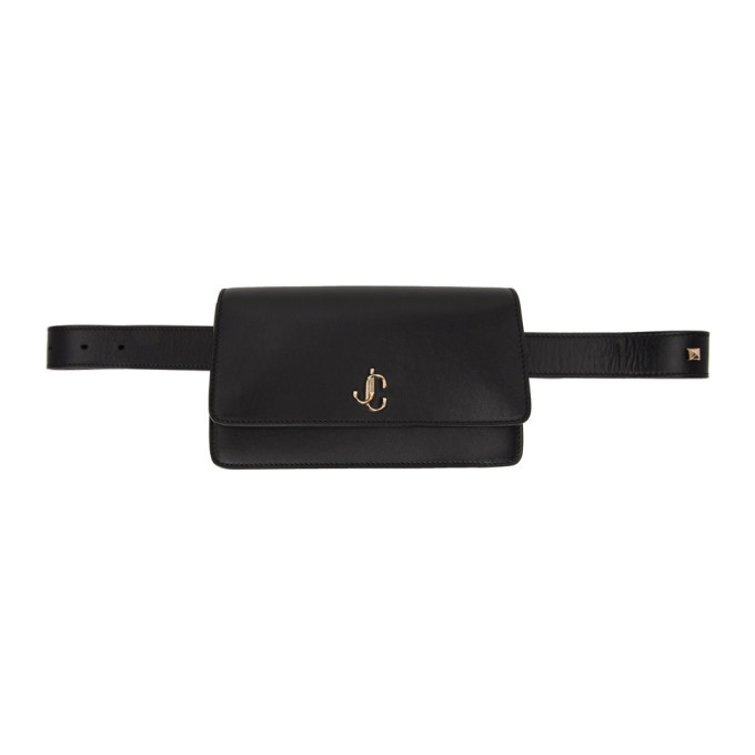 Photo: Jimmy Choo Black Varenne Belt Bag