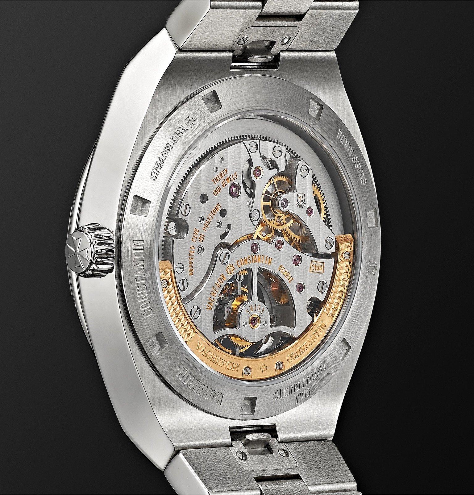 Vacheron Constantin - Overseas Tourbillon Automatic 42.5mm Stainless Steel Watch, Ref. No 6000V/110A-B544 - Blue