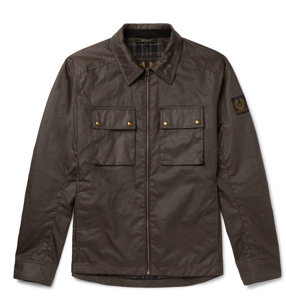 Belstaff - Dunstall Waxed-Cotton Jacket - Men - Brown