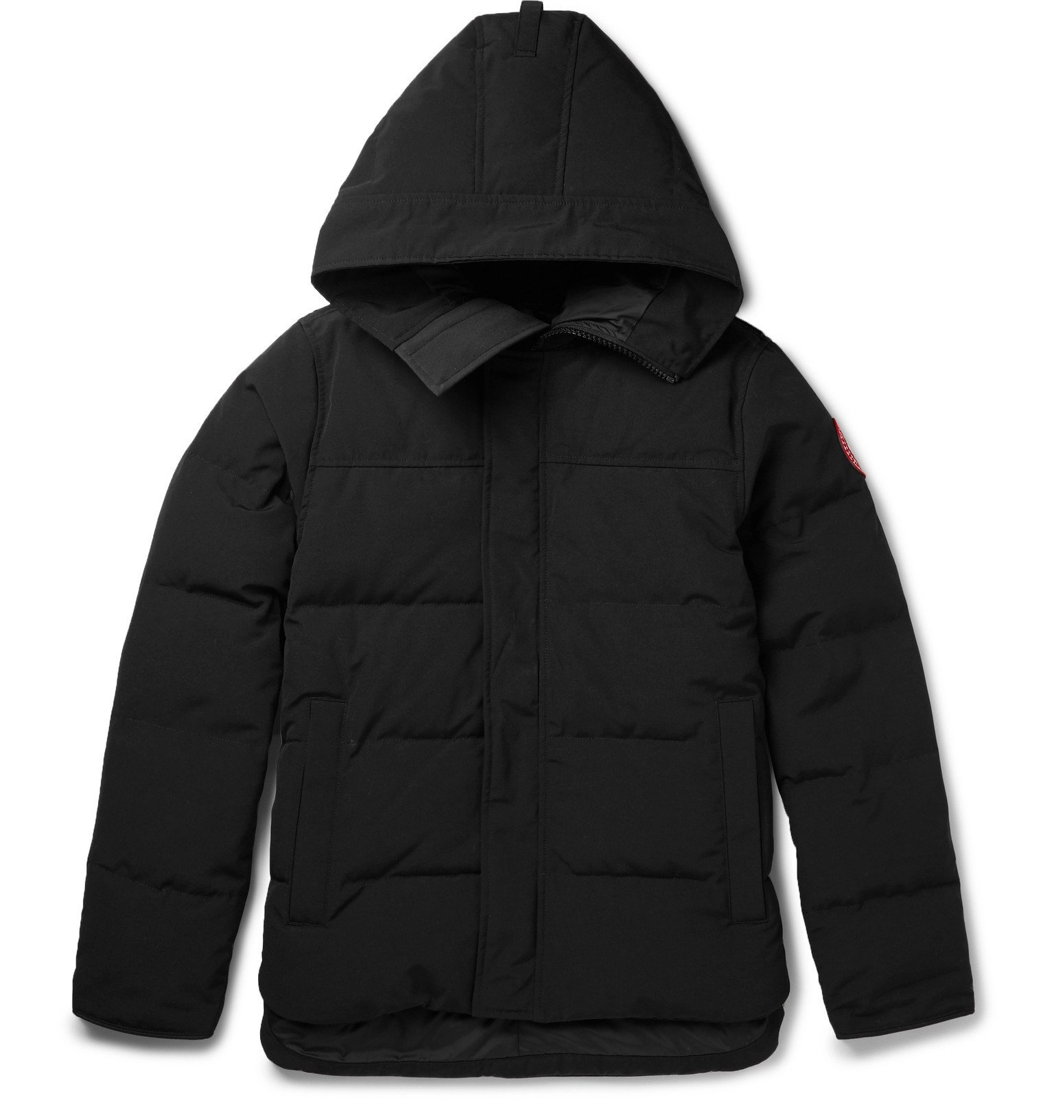 Photo: Canada Goose - Macmillan Quilted Shell Hooded Down Parka - Black