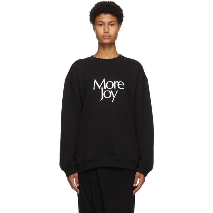 Photo: More Joy Black Logo Sweatshirt