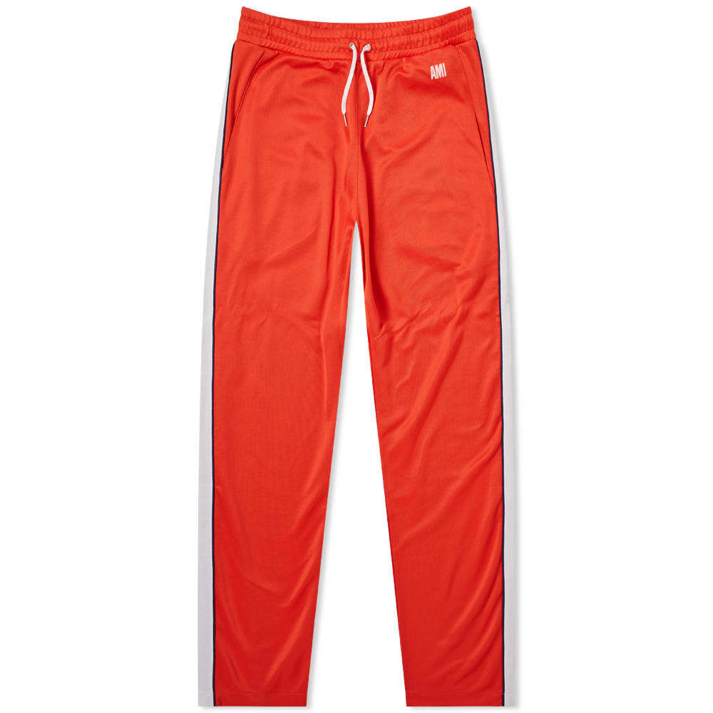 Photo: AMI Taped Track Pant Red