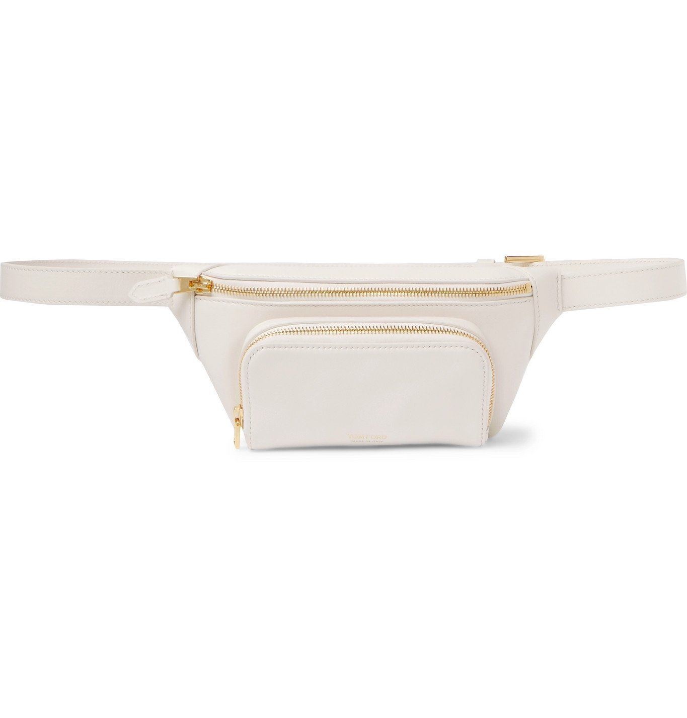Photo: TOM FORD - Leather Belt Bag - White
