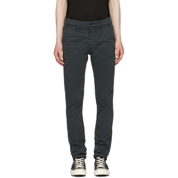 Photo: Nudie Jeans Black Slim Adam Trousers