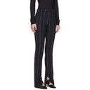3.1 Phillip Lim Navy Striped Side Zip Trousers