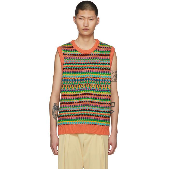 Photo: Stella McCartney Multicolor Knit Vest