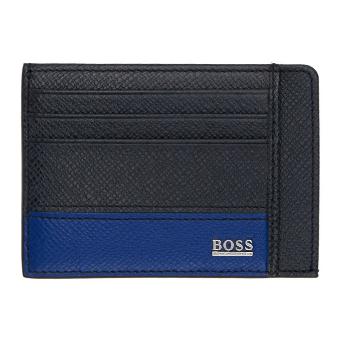 Photo: Boss Blue Two Sided Card Holder
