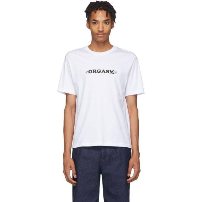 Photo: Carne Bollente White Orgasm T-Shirt