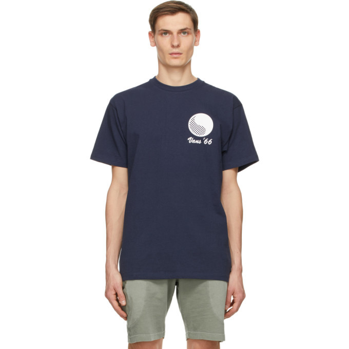 Photo: Vans Navy Free and Easy Edition Logo T-Shirt