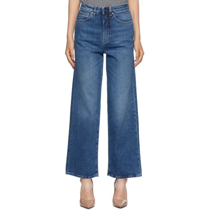 Photo: Toteme Blue Flair Jeans
