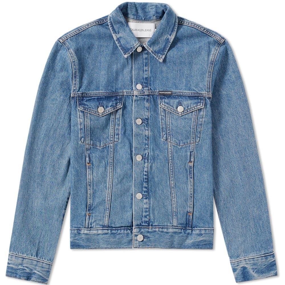 Photo: Calvin Klein Classic Trucker Denim Jacket Blue