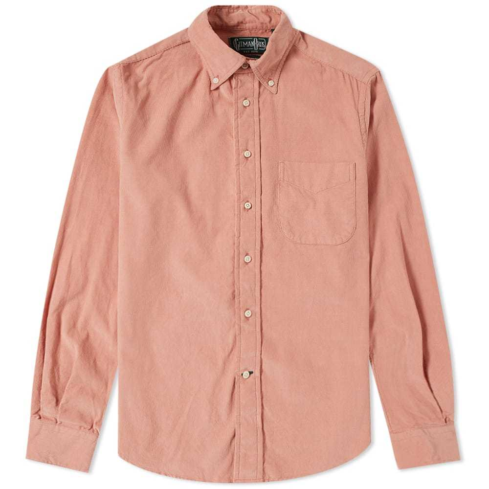Photo: Gitman Vintage Corduroy Shirt Pink