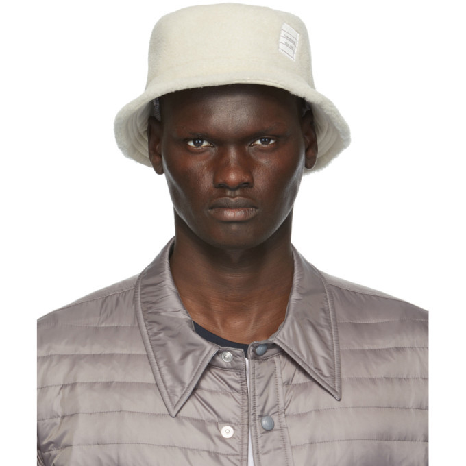 Photo: Thom Browne Off-White Shearling Bucket Hat