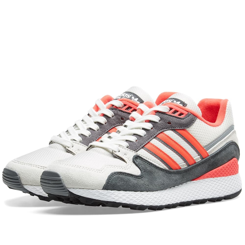 Adidas Ultra Tech White, Shock Red & Grey