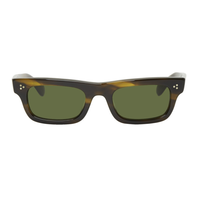 Photo: Oliver Peoples Tortoiseshell Jaye Sunglasses