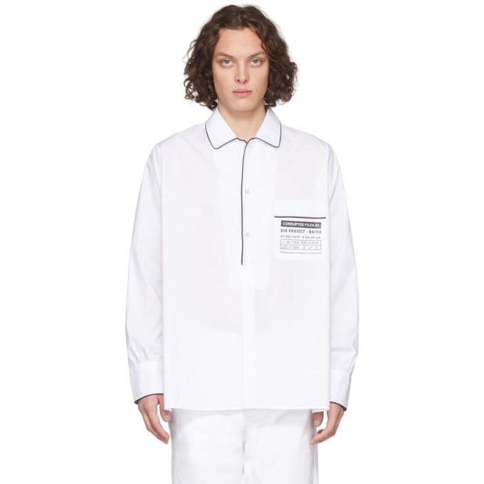 Photo: Random Identities White Computer 3 Shirt