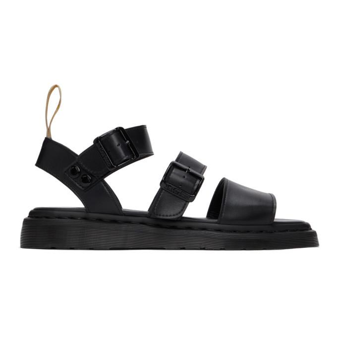 Photo: Dr. Martens Black Vegan Gryphon Gladiator Sandals
