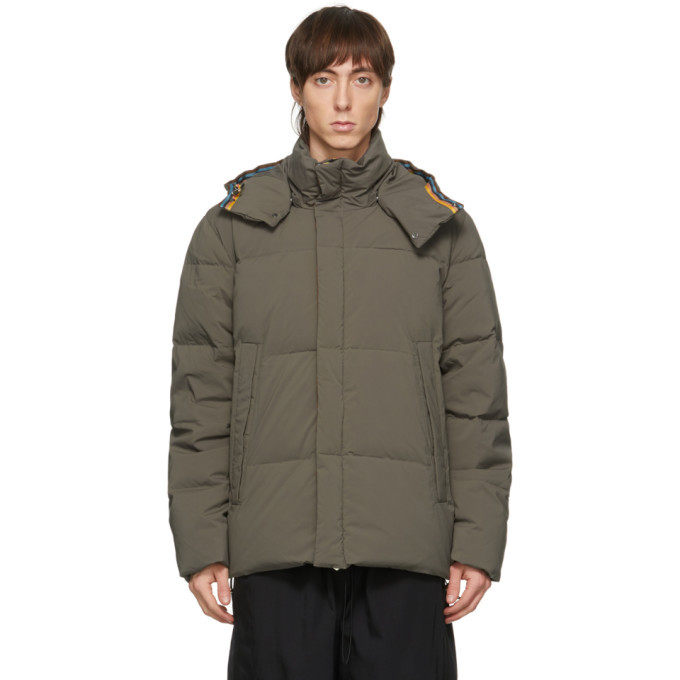 Photo: Paul Smith Brown Down Short Parka