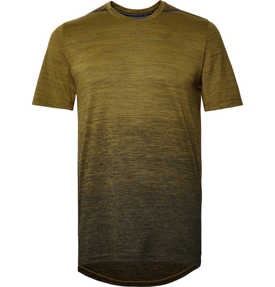 Nike Running - Dri-FIT T-Shirt - Men - Army green