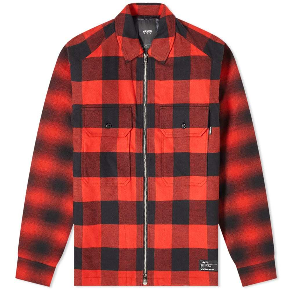 Photo: HAVEN Mechanic Insulated Flannel Shirt