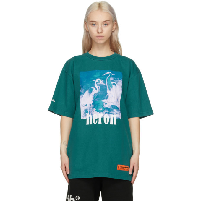 Photo: Heron Preston Blue Herons T-Shirt