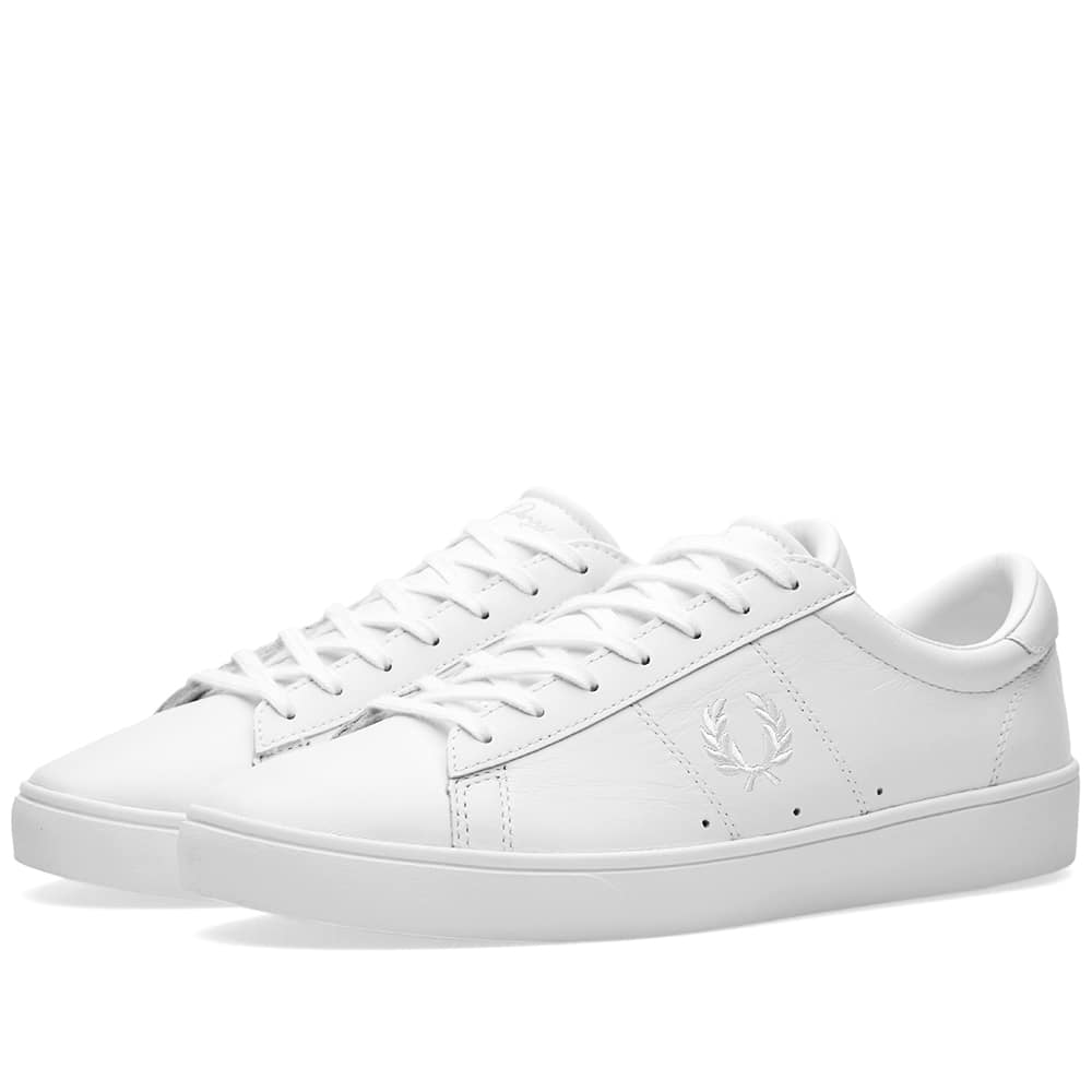 Fred Perry Spencer Leather Sneaker Fred