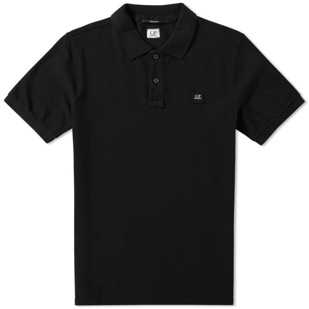 C.P. Company Garment Dyed Pique Polo