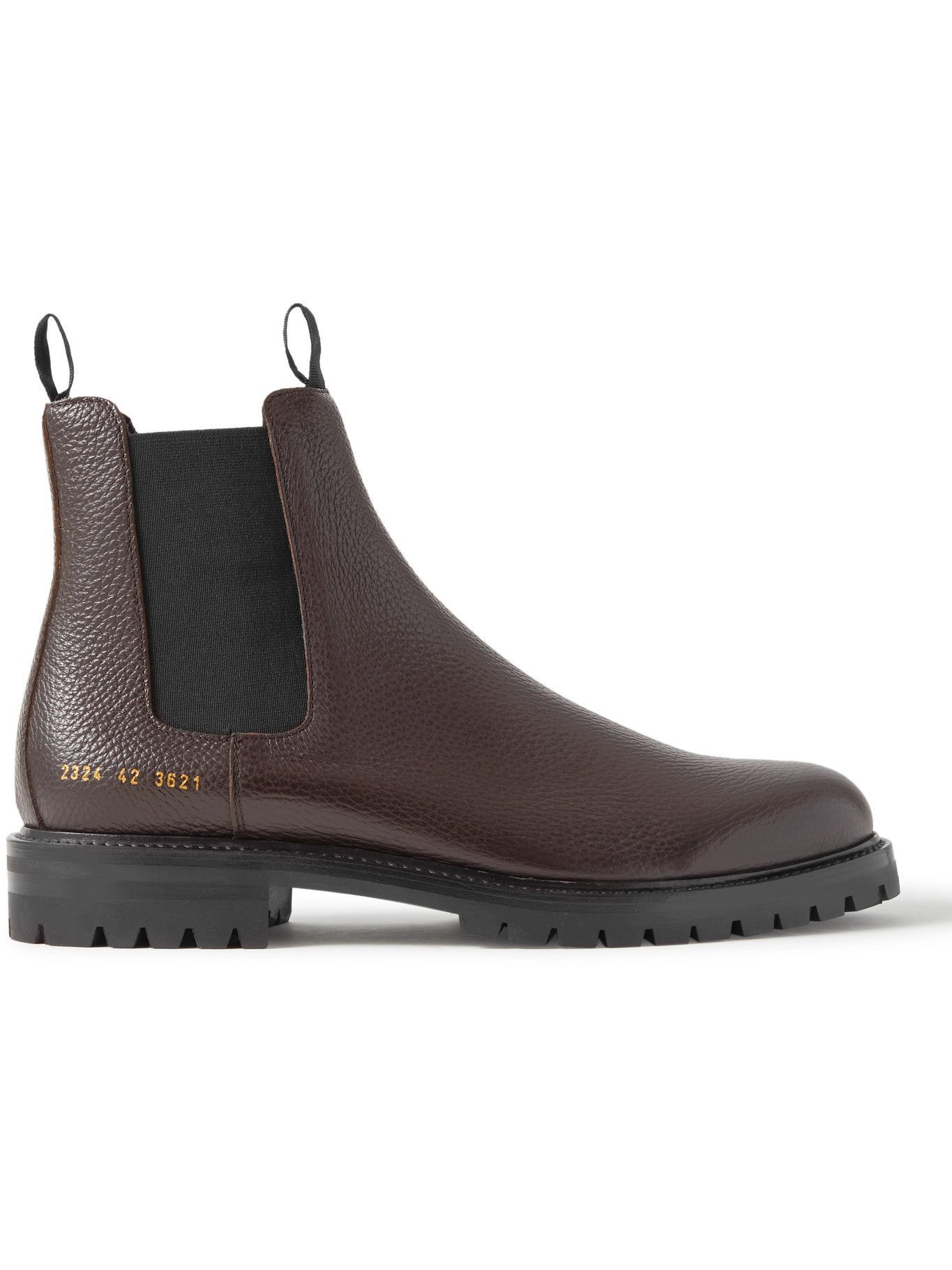 Photo: Common Projects - Full-Grain Leather Chelsea Boots - Brown