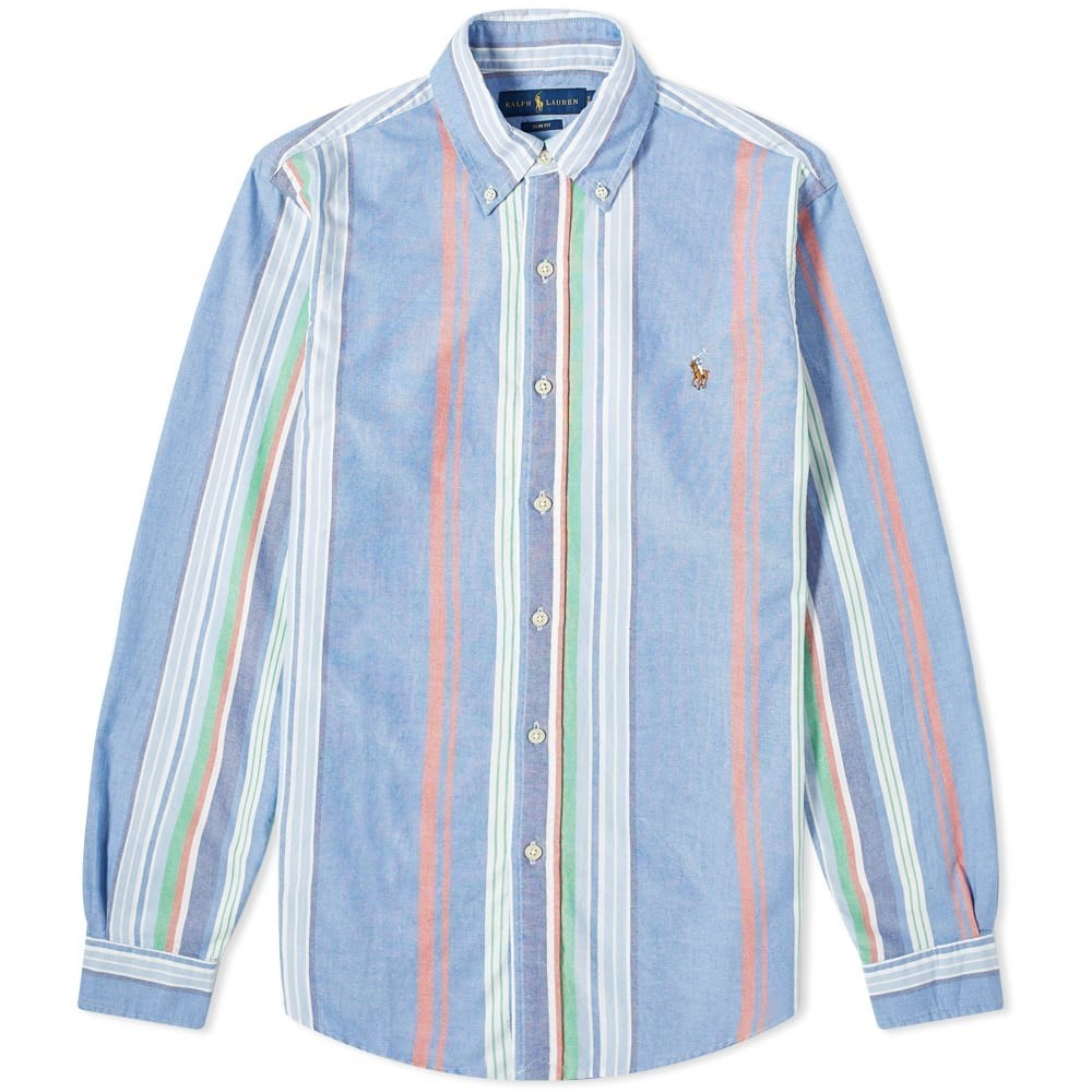 Photo: Polo Ralph Lauren Fun Mix Stripe Button Down Shirt