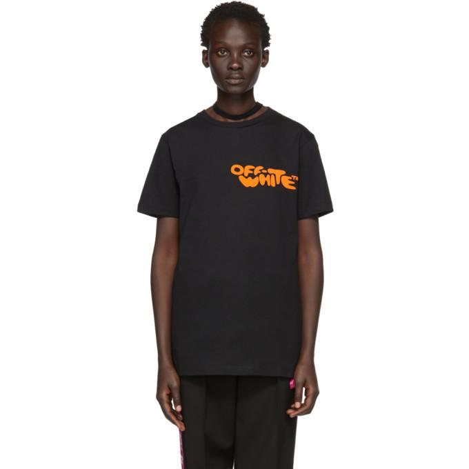 Photo: Off-White Black Bubble Font T-Shirt