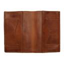 RRL Brown Leather Passport Holder