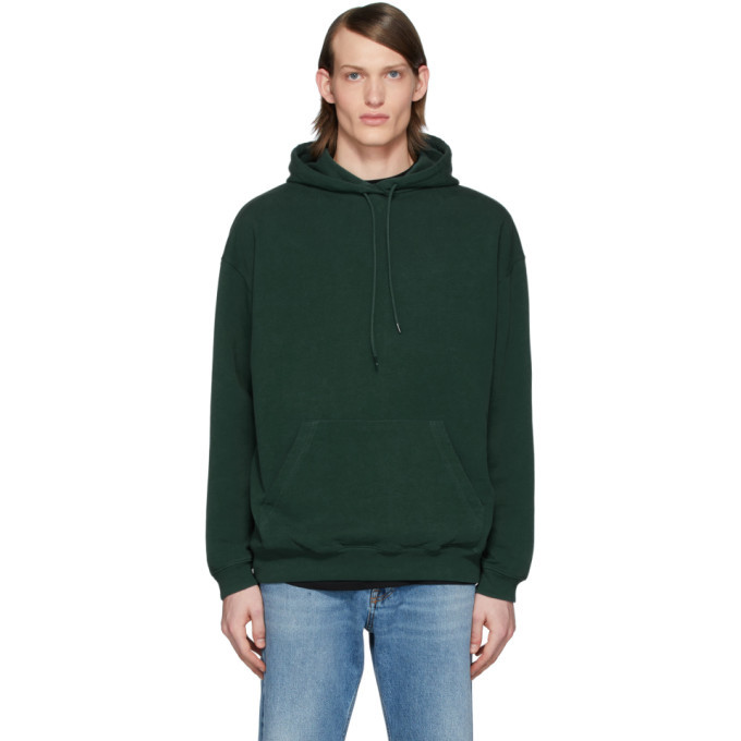 Photo: Balenciaga Green Back Logo Hoodie